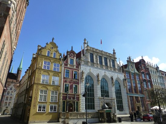 Novotel Gdansk Centrum: Beautiful buildings