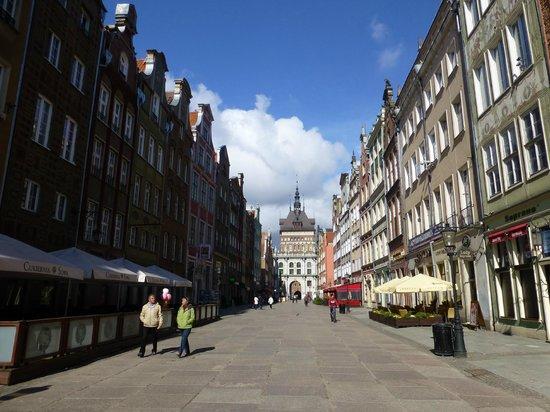 Novotel Gdansk Centrum: Pretty Long Street