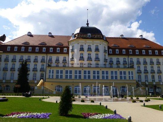 Novotel Gdansk Centrum: Grand Hotel, Sopot (where Hitler once stayed)
