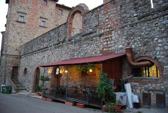 La Locanda di Desideria: Buitenterras van het restaurant