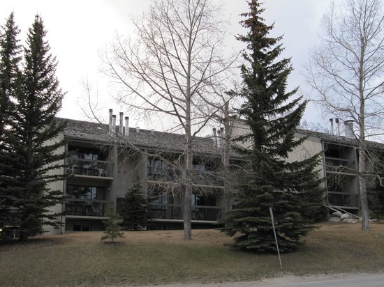 Tunnel Mountain Resort: Our condo building
