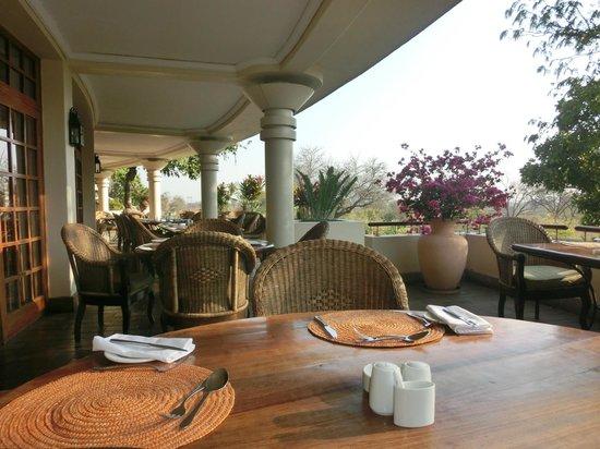 Ilala Lodge : luogo per la colazione/cena
