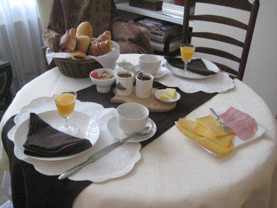 My B and B: Yummy European breakfast
