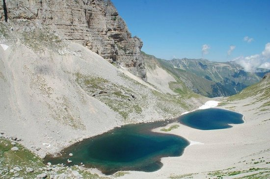 Montemonaco, Italy: Lago di Pilato - Estate