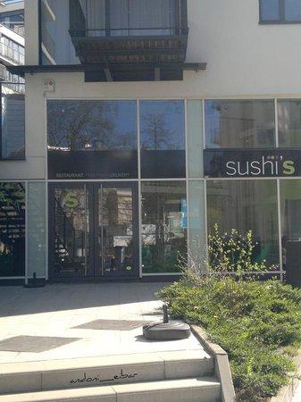 Aloft Brussels Schuman Hotel: Sushi bar