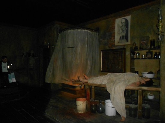 Berlin Dungeon - one of the rooms inside