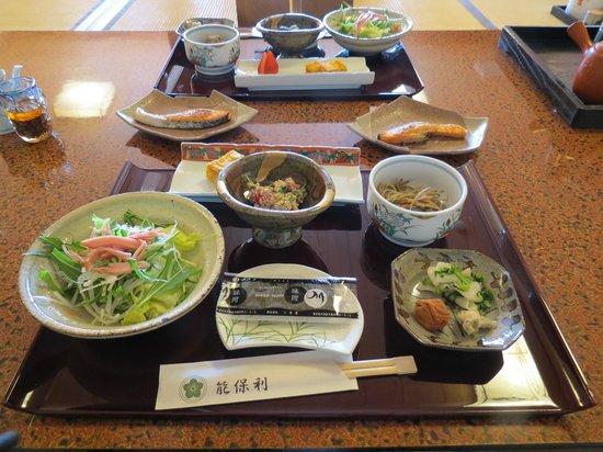 Shukubo Nobori : 朝食