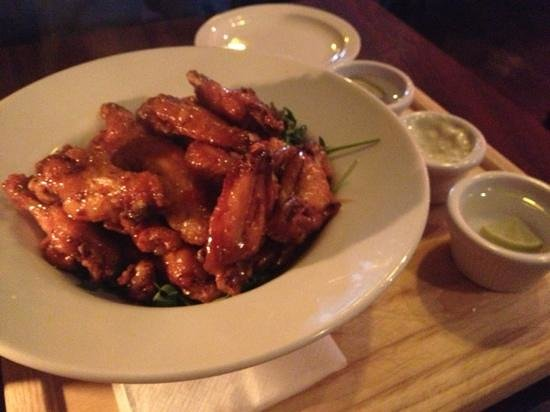The Bective: the wings!!