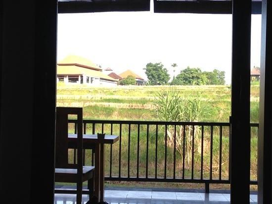 Biyukukung Suites and Spa: vue sur rizière...