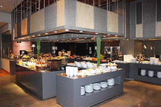 Novotel Bangkok Platinum Pratunam: Dining Area