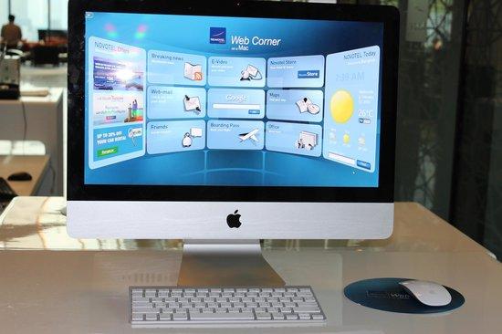 โนโวเทล กรุงเทพ แพลตทินัม ประตูน้ำ: Mac can be used at the lobby
