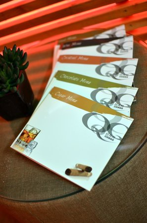 Q Bar & Restaurant Malta : MENU