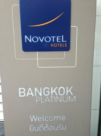 Novotel Bangkok Platinum Pratunam: Key Card