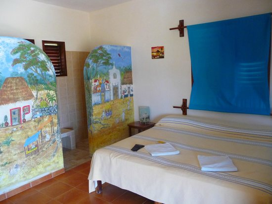 Hotel Maya Luna: Inside of the cabaña
