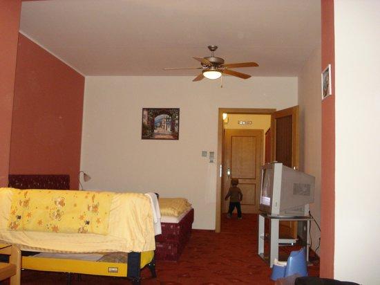 Hotel u Crliku: die suite