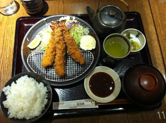 Wako Celeo Hachioji: Wako Fried Shrimp Set
