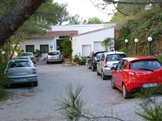 Hostal Sa Barraca : Párquing