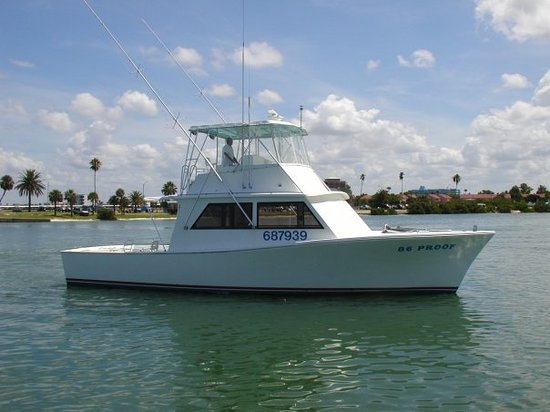 Charter Fishing Boat 86 Proof