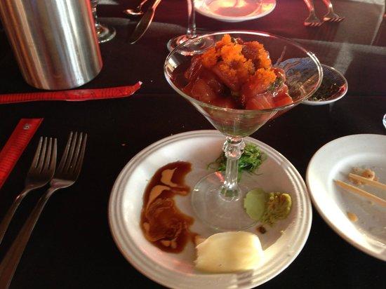 Pearl Restaurant: Tuna Martini...yum