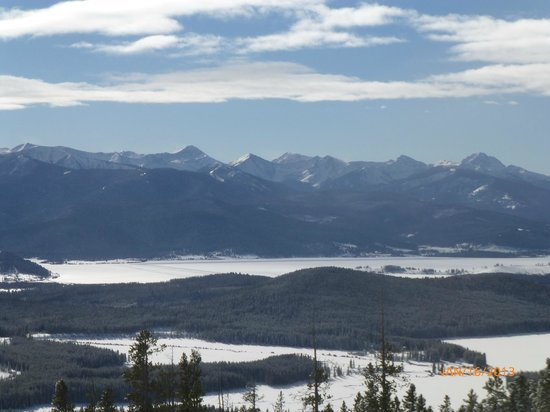 View from the top of Rumsey Mountain - Discovery Ski Area