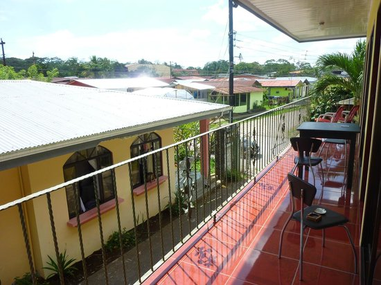 Cabinas Jerry : Terrace in front of the room