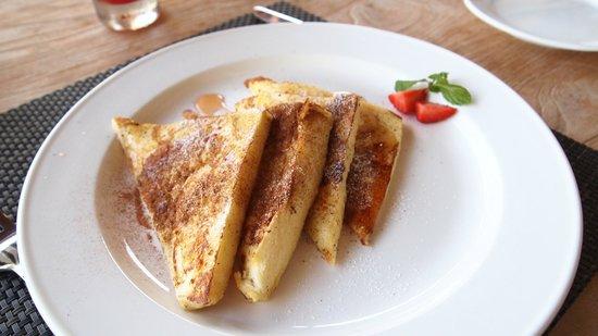 Luwak Ubud Villas: 很想念這個早餐 有肉桂味 好好吃