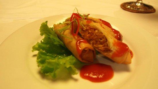 Luwak Ubud Villas: 小點心 好吃