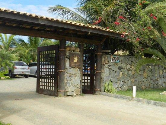 Villa Baobá: Entrada da pousada