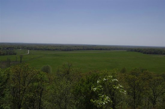 Pea Ridge National Military Park : View from the Pea Ridge overlook