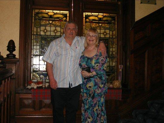 Highland Hotel: The wonderful staircase