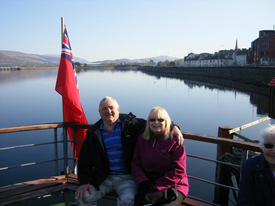 Highland Hotel: A trip on the lock to see seals