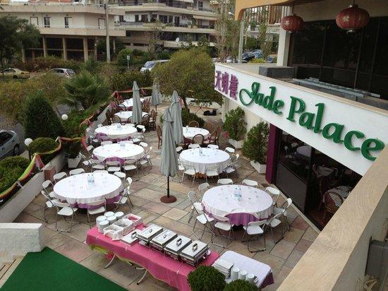 Jade Palace: outside