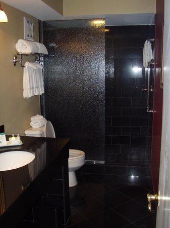 Bourbon Orleans Hotel : Salle de bains (sans bain, seulement une douche)