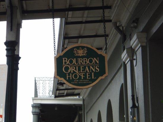 Bourbon Orleans Hotel : Hôtel