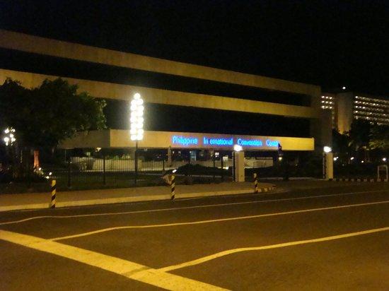 Philippine International Convention Center : PICC at night