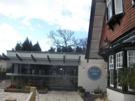 Tullie Inn: Entrance