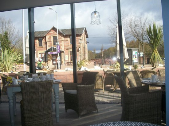 Tullie Inn: View from the dining area