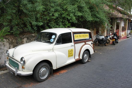 Galle Fort Hotel: Pity the car does not move