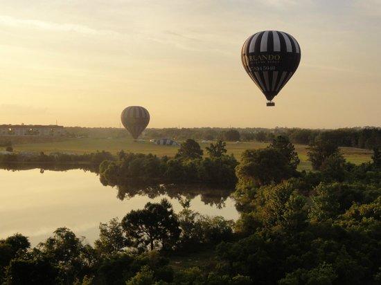 Orlando Balloon Rides: 上空写真