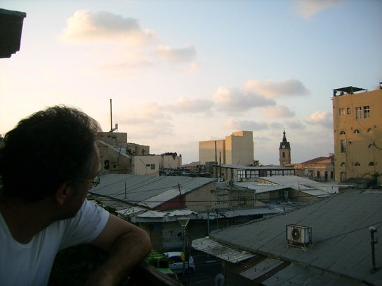Old Jaffa Hostel: view from the roof terrace