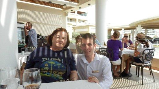 La Marquise Luxury Resort Complex: Nelu and my mother