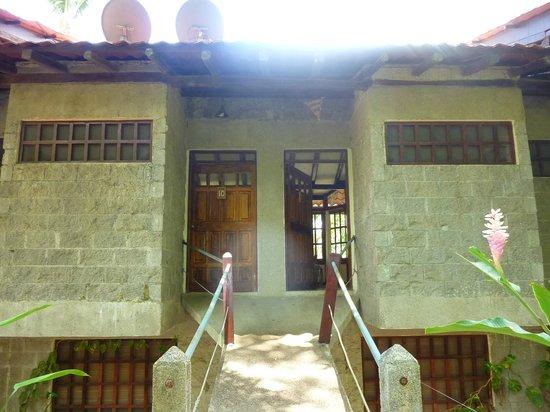 Hotel Luz de Mono: Front of the bungalow