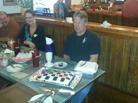 Vicki's on Tybee : Birthday cake