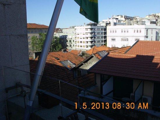 "Pao de Acucar Hotel: Blick aus dem ""Speisesaal"""