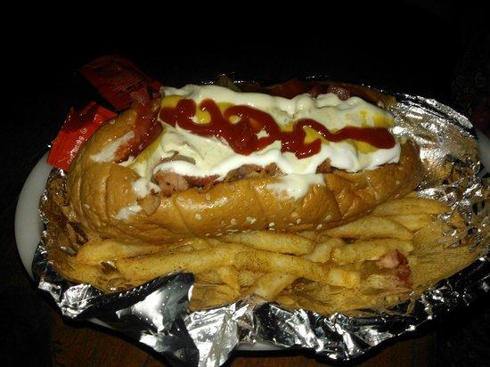 Diego's Casa de Playa : The best hot dog ever