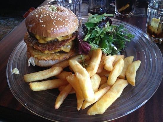 Au Bureau: burger