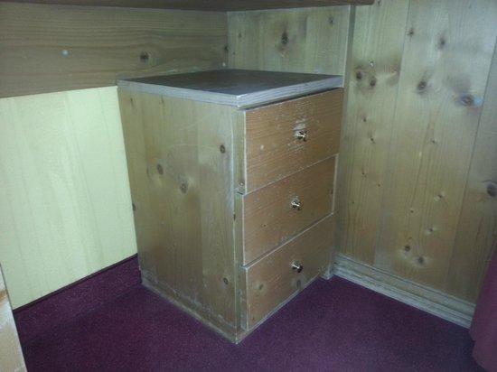 Hotel Angelica: cassetti scrivania