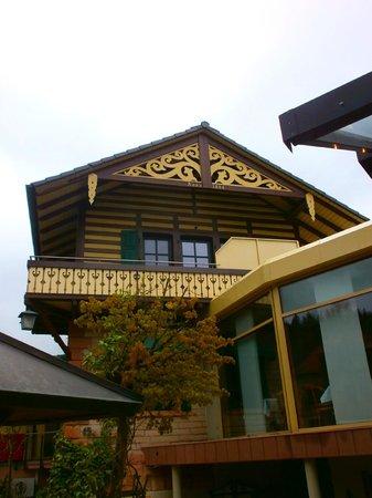 Villa Marburg im Park: Altes Gebäude