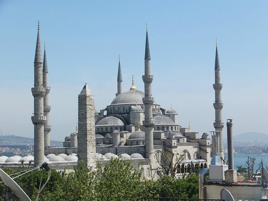 Hotel Fehmi Bey: テラスからの眺め1