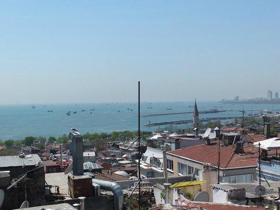 Hotel Fehmi Bey: テラスからの眺め3